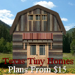 Plans & Information from Texas Tiny Homes for building a Tiny Home